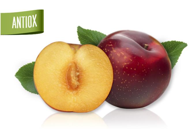 Tany-Nature-Ciruela-roja-de-carne-amarilla,-una-fruta-deliciosa-y-una-calidad-nutricional-extraordinaria