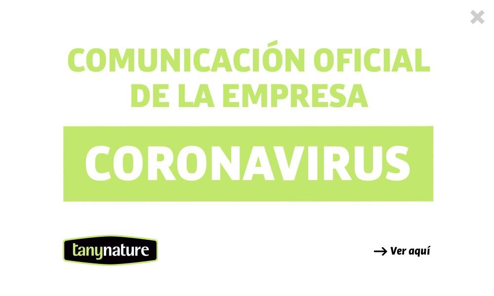 Cartel Coronavirus Tany Nature